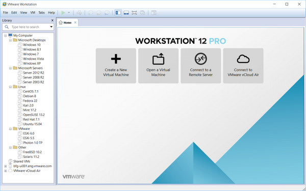 download vmware workstation 12